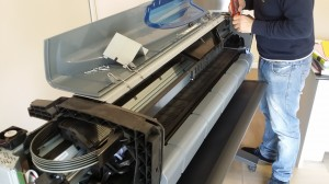Assistenza plotter hp Dj 800 Bari